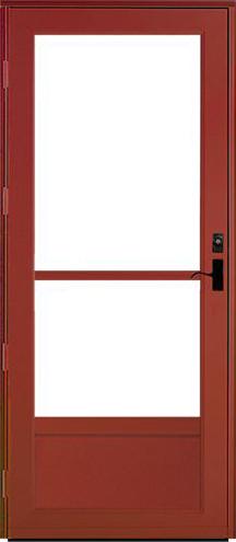 Provia Deluxe Storm Doors Professional Installation Work Guaranteed