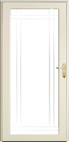 ProVia Decorator Storm Doors | Professional Installation, Work ... on