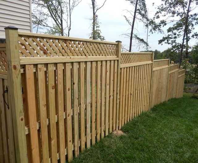 Pressure Treated Fencing Professional Installation Work