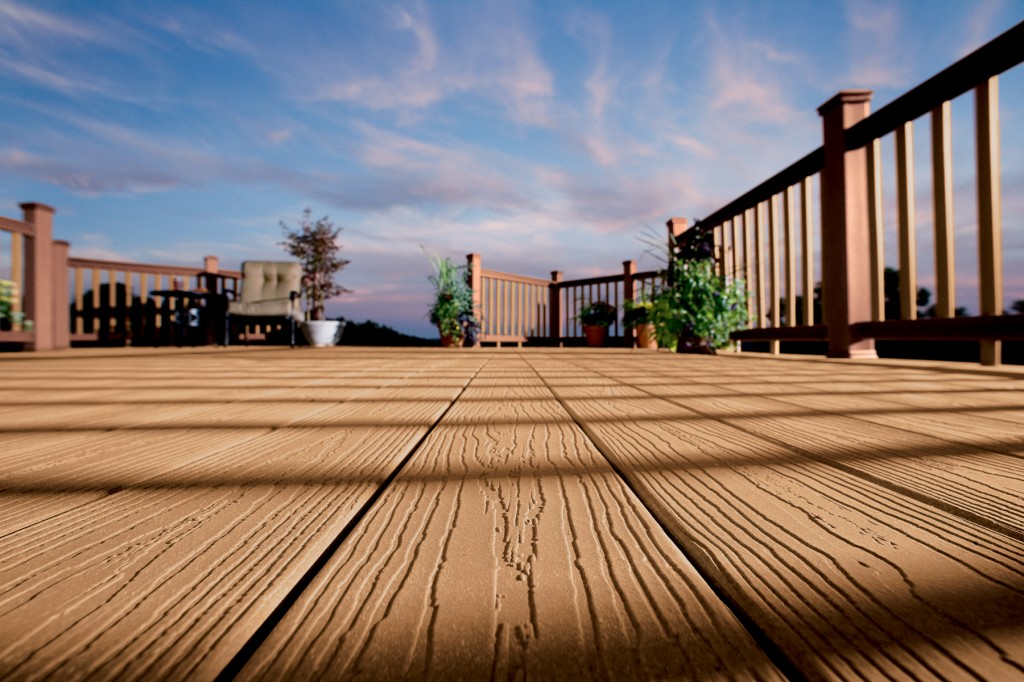 Deck Fencing Materials : Evergrain decking railing materials sunshine contracting