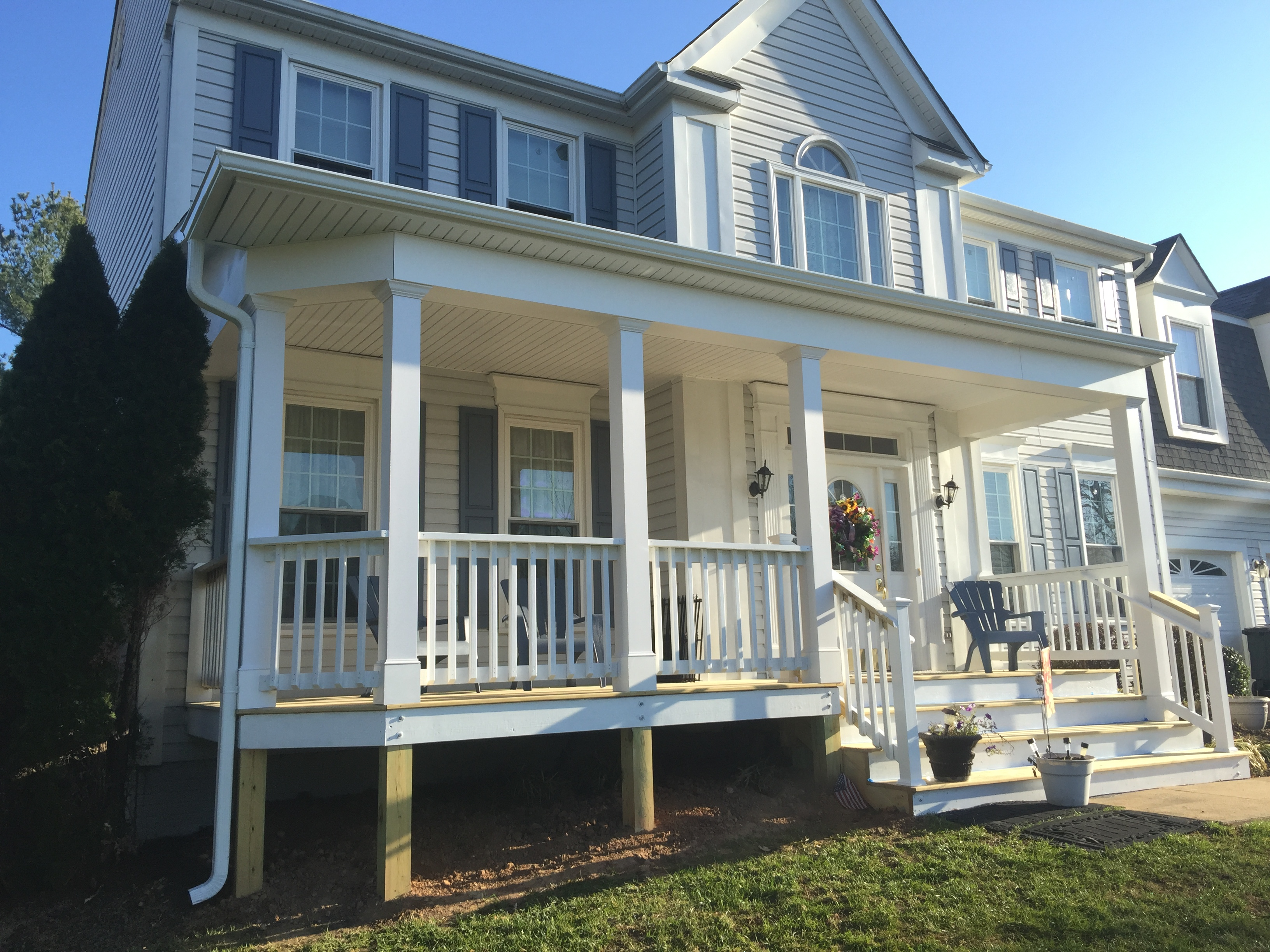 Front Porches Sunshine Contracting