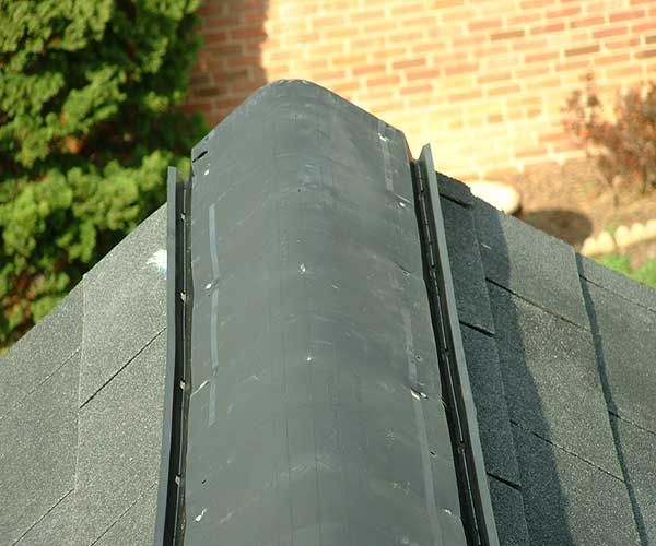 Ridge Shingle Replacement In Fairfax County Are Placed On Top Of The Vent And Provide An Extra Protection For From Wind Weather