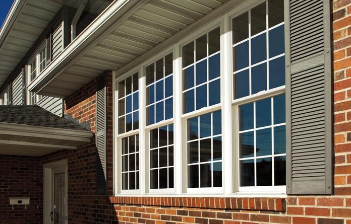 Simonton Vinyl Windows : Simonton double hung windows sunshine contracting