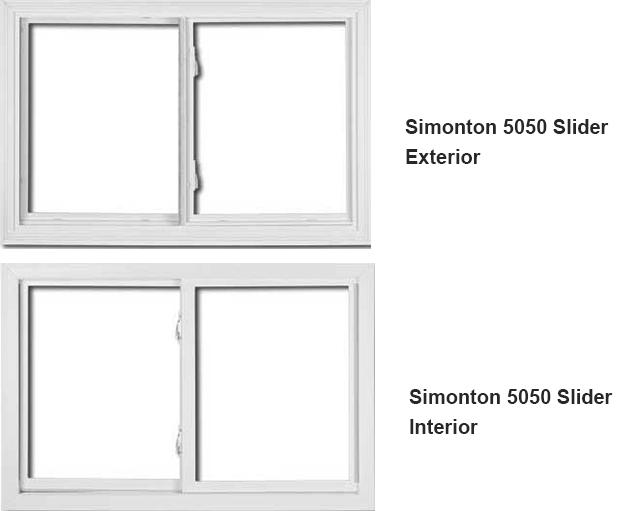 simonton windows 5500 colors the simonton 5500 sliding window is slider installation fairfax county virginia