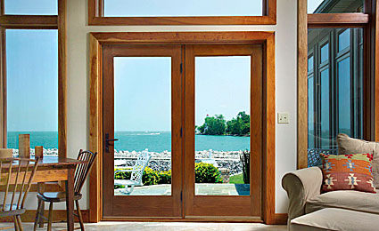 Therma Tru Classic Craft Oak Patio Door Sunshine Contracting