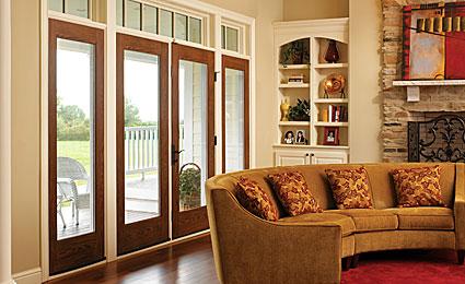 Therma Tru Fiber Classic Oak French Door