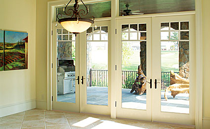 Therma Tru Fiber Classic Smooth Star French Doors