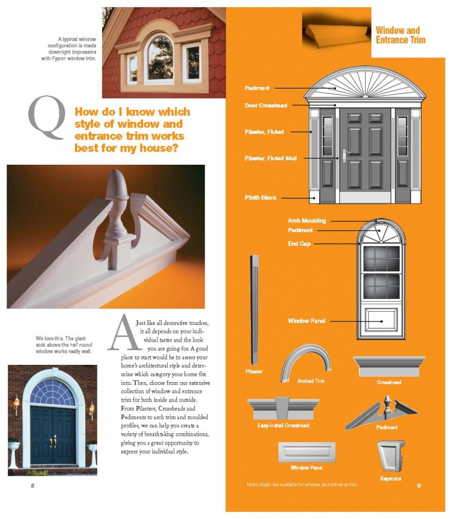 ... Window U0026 Door Trim, Keystones, Timber U0026 Stone Window U0026 Door Trim. How  Do You Know What Style Of Window And Entrance Trim Works Best For Your  House?