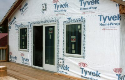 House Wrap Insulation Professional Installation Work