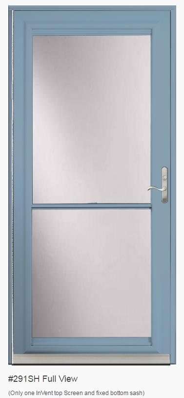 provia spectrum storm doors
