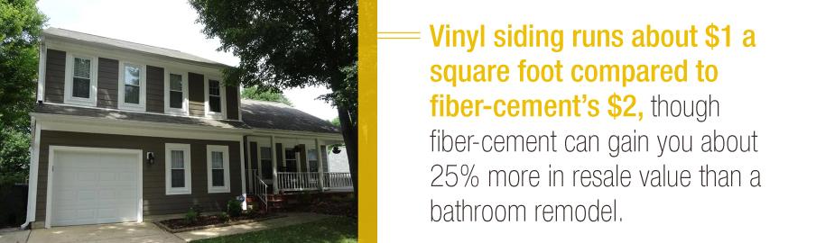 Vinyl vs Fiber-Cement Siding