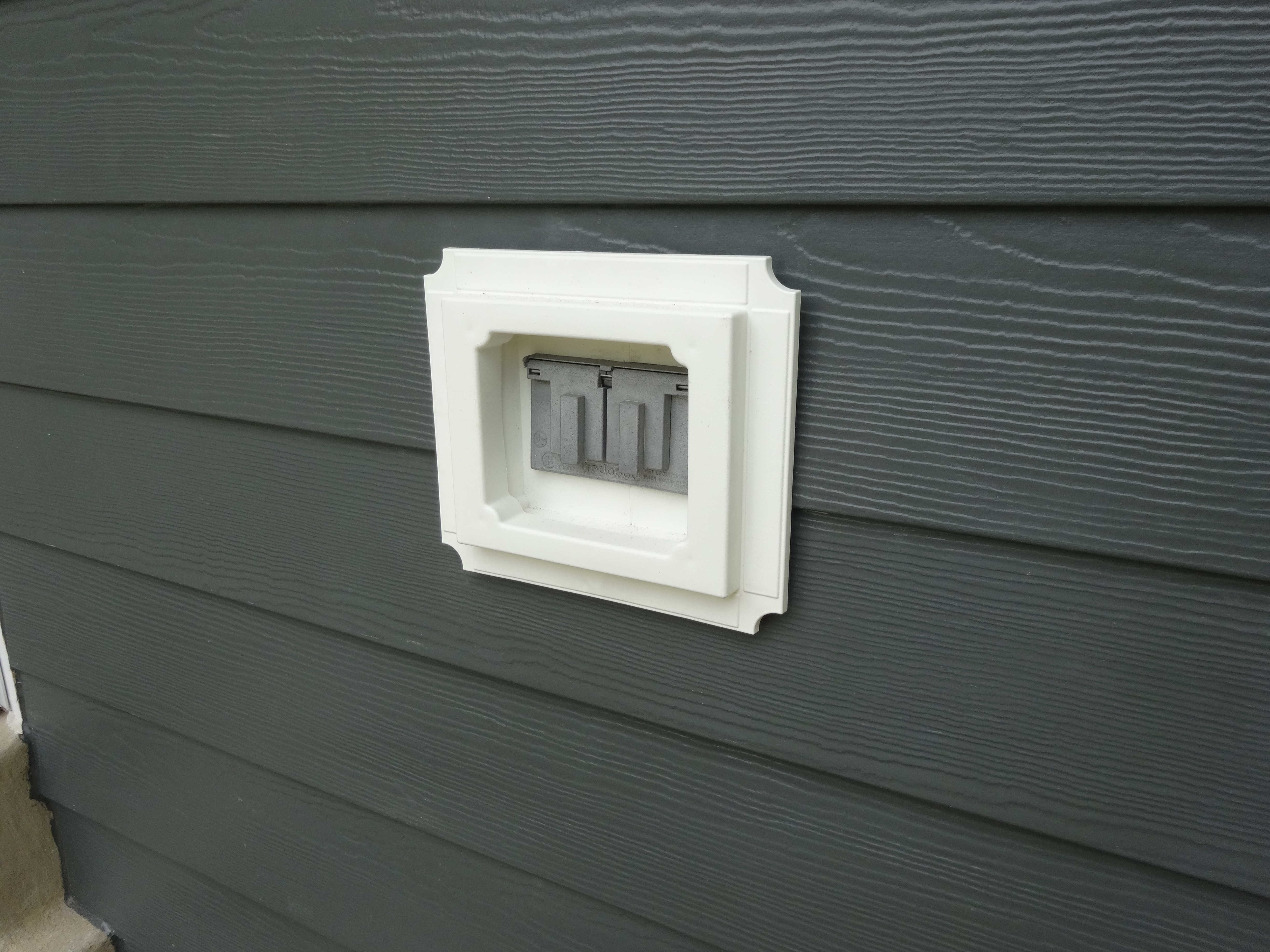 Recessed Blocks Sit Within The Siding And Do Not Stick Out Much Like Lighting A Home Allow You To Insert Things Such As An Electrical