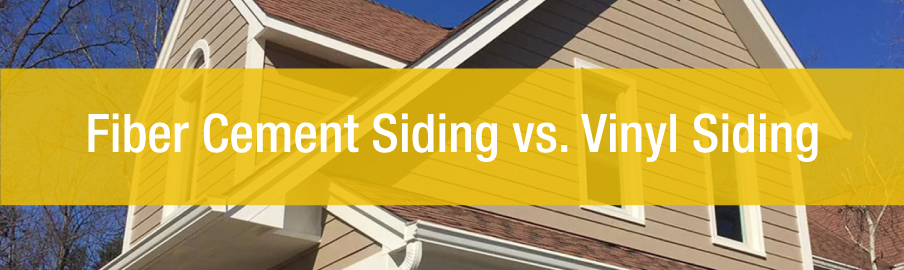 Fiber Cement Siding Vs. Vinyl Siding