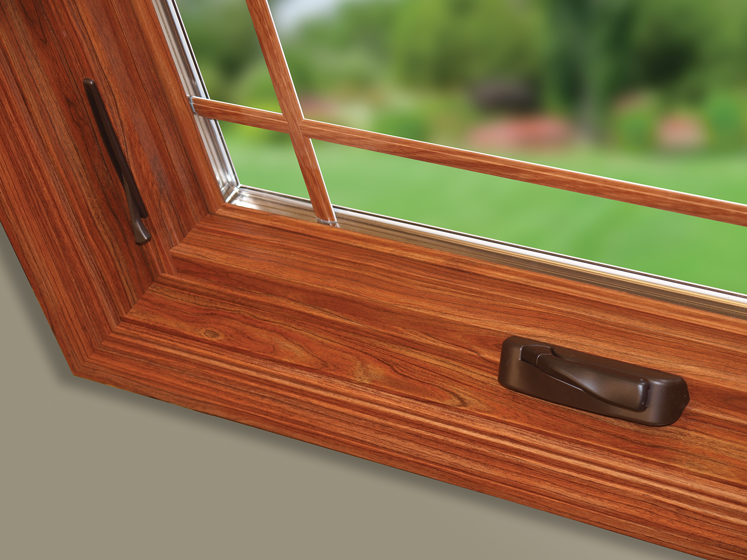 Sunrise Casement Window Corner Detail