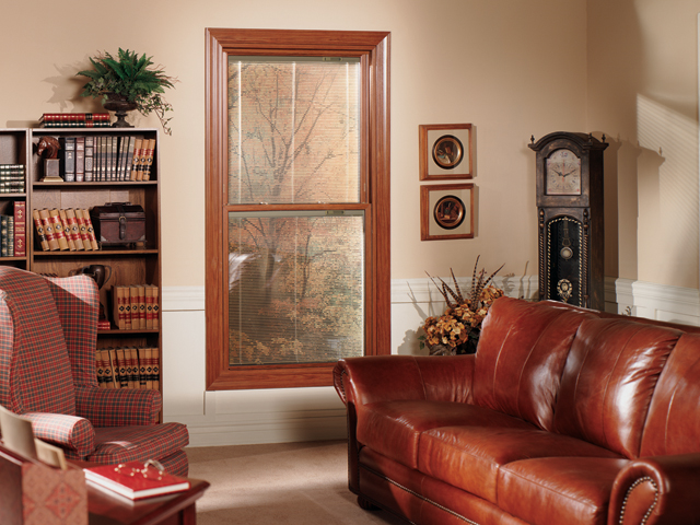 Double Hung Office Window
