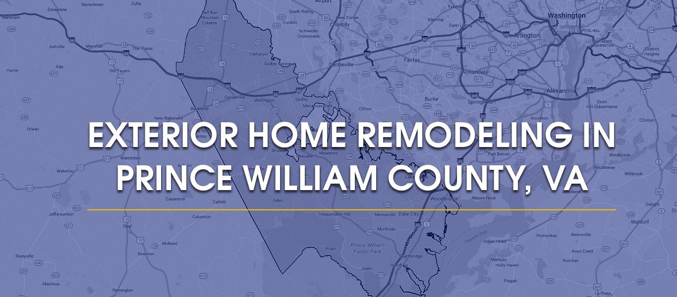 Exterior Home Remodeling In Prince William County Va