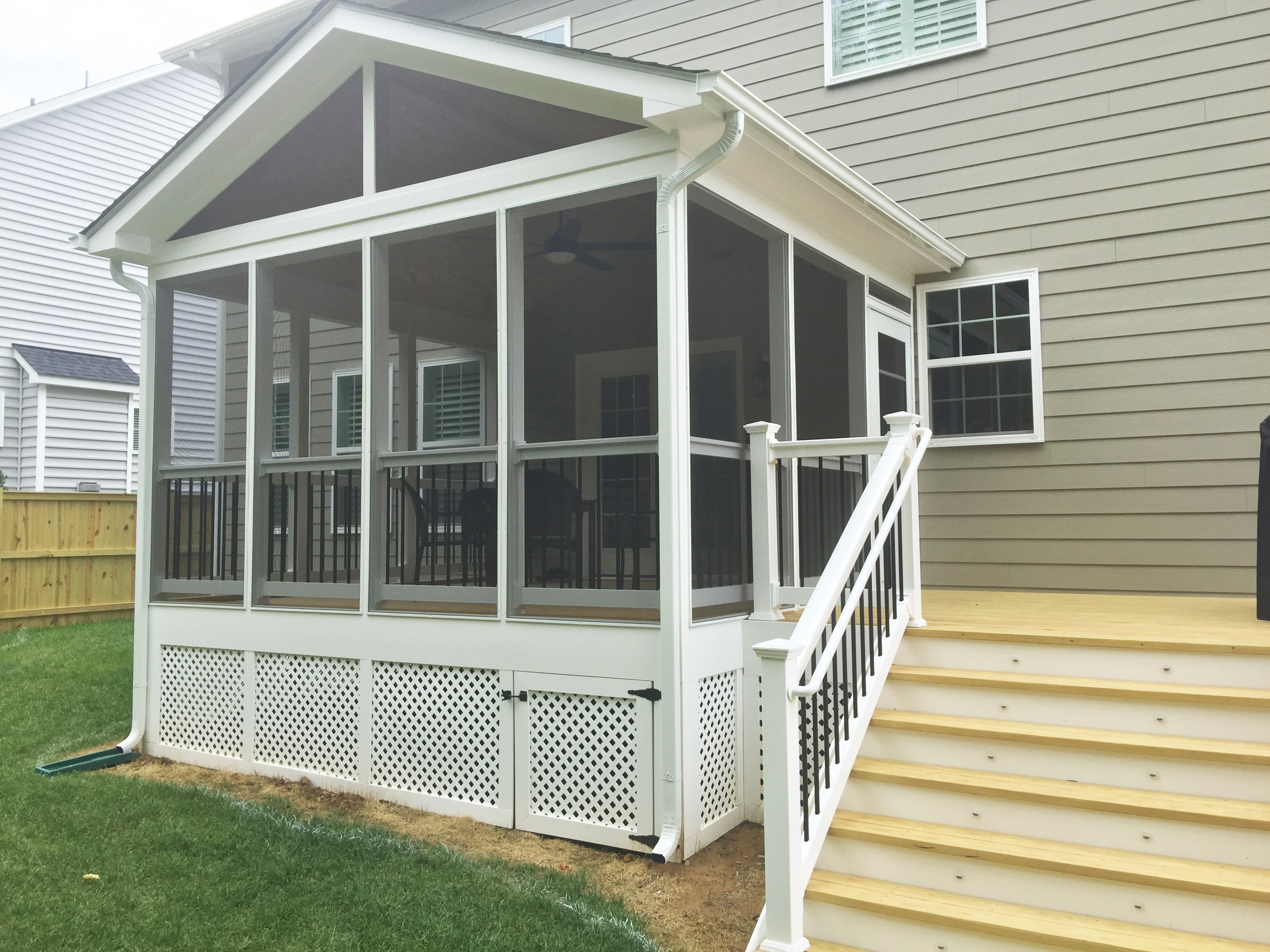 Sledge Deck With Sip Sunshine Contracting