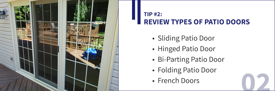 How to pick the perfect patio door 5 tips to help you choose for Different types of patio doors