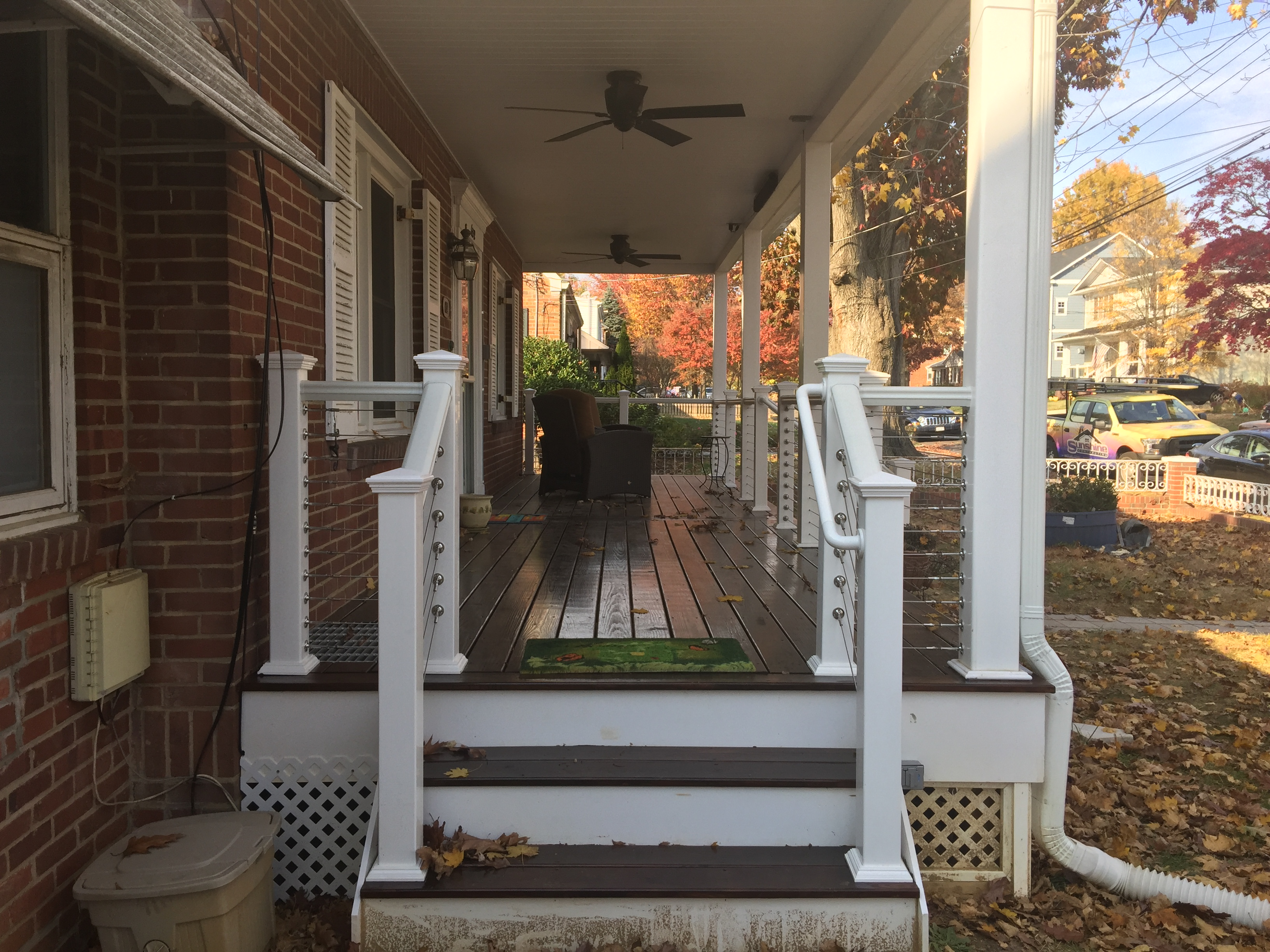 Front Porch Renovation Portfolio Professional