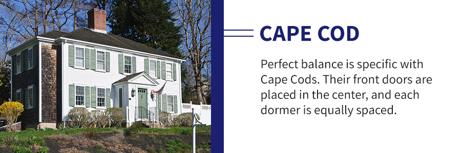 Cape Cod Home Windows and Doors