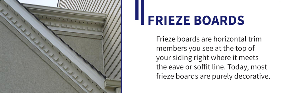 Frieze Boards Trim