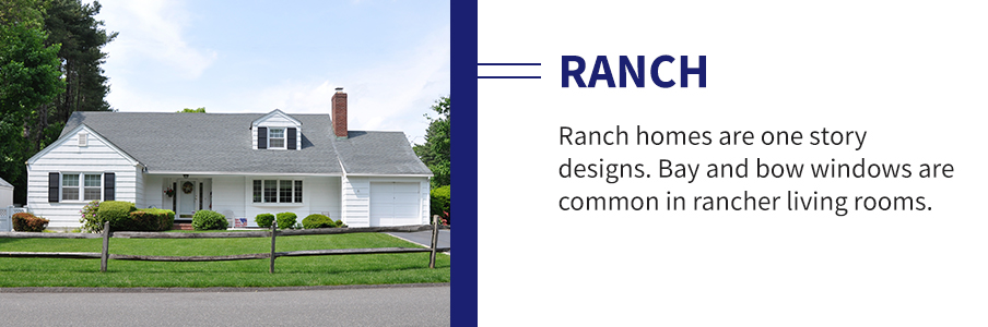 Ranch Home Windows and Doors