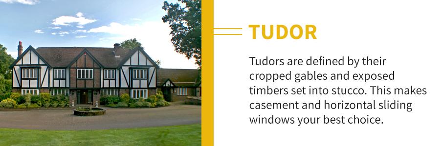 Tudor Home Windows and Doors