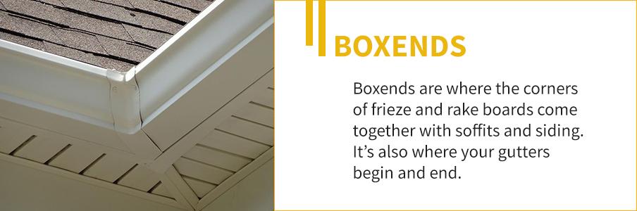 Boxend Corner Exterior Trim