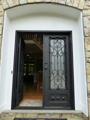 Front Doors - Black