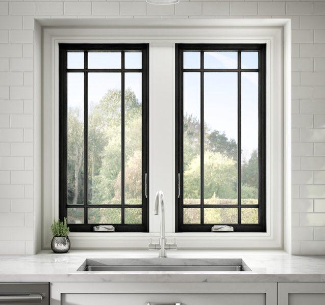Kitchen Sink Casement Windows