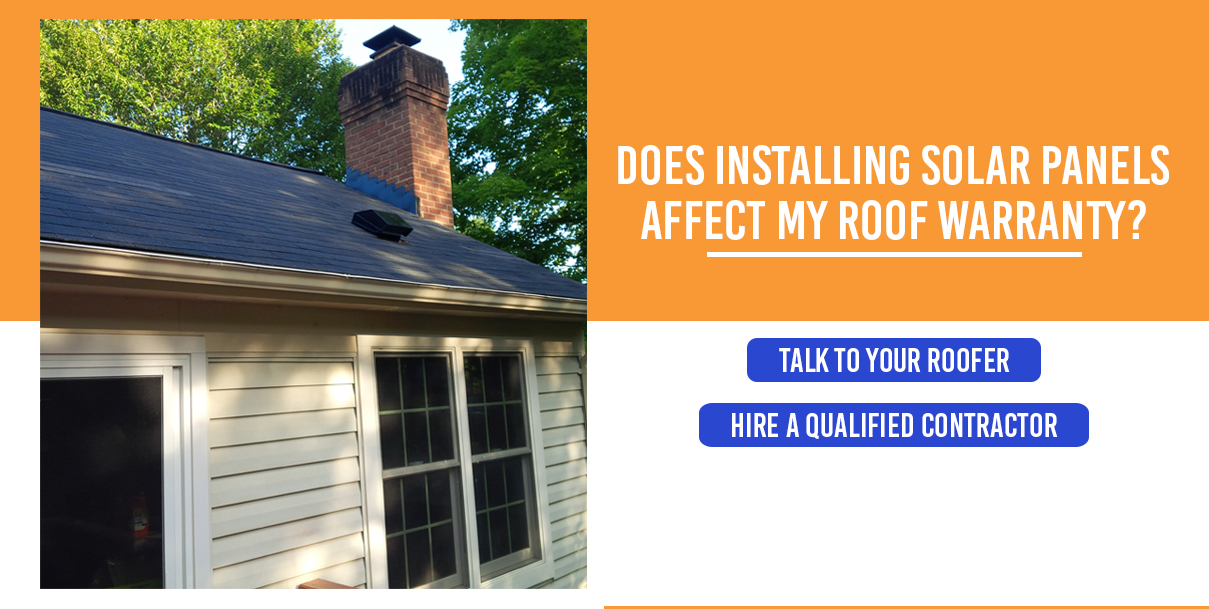 Does Installing Solar Panels Affect My Roof Warranty?