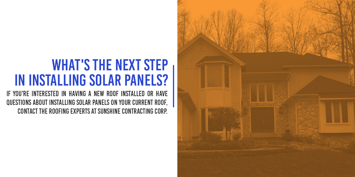 What's The Next Step In Installing Solar Panels?