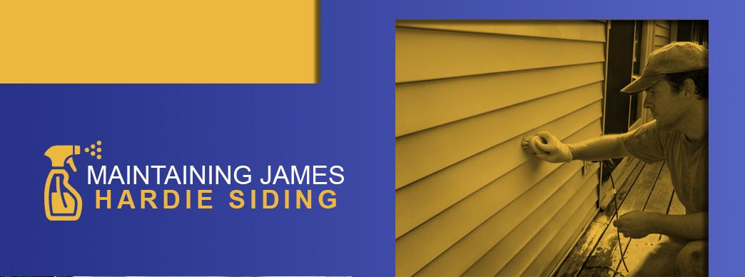 Maintaining James Hardie Siding
