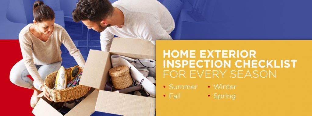 Home Exterior Inspection Checklist for Every Season