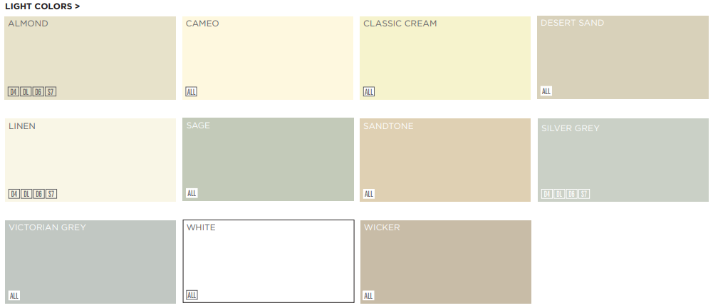 Structure Home Insulation- Light Colors