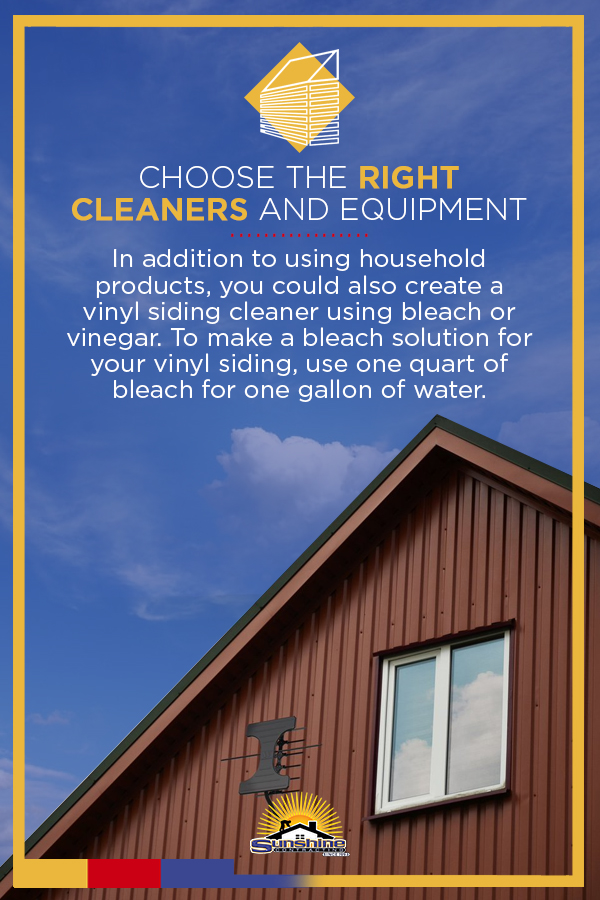Choose the Right Cleaners and Equipment