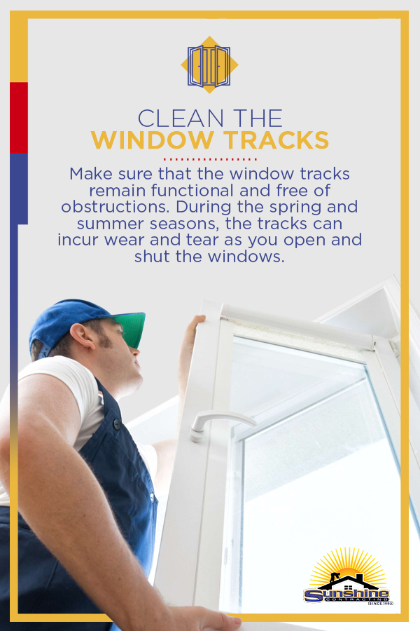 Clean the Window Tracks
