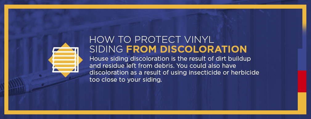 How to Protect Vinyl Siding from Discoloration