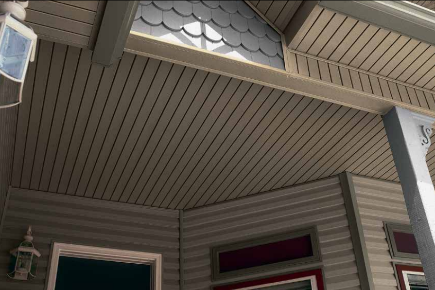 Charter Oak Home Soffit Example