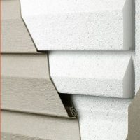 Progressive Foam Fullback Thermal Support under Siding