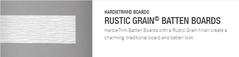 Hardie Trim - Rustic Batten Boards