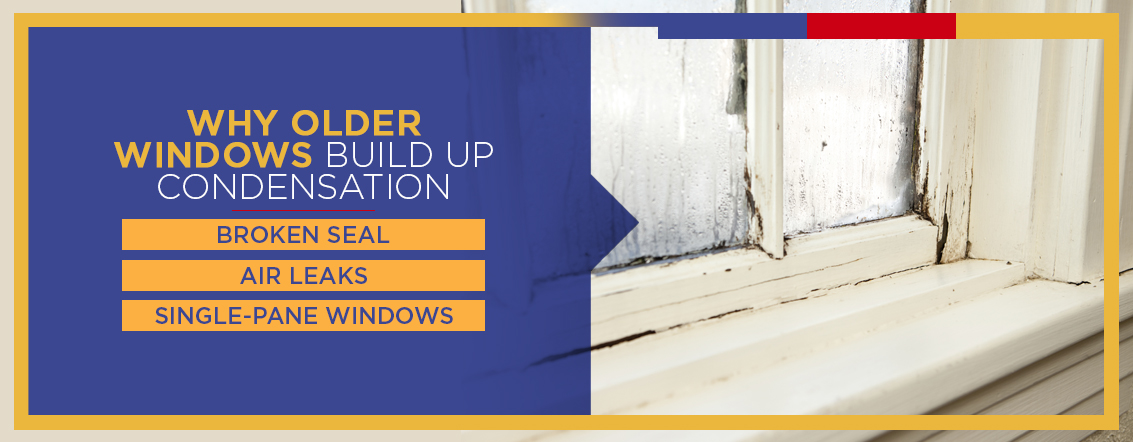 Why Older Windows Build Up Condensation