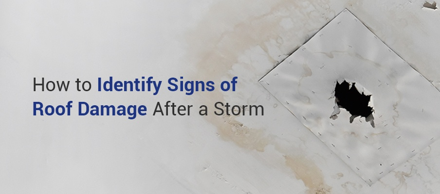 How to Identify Signs of Roof Damage After a Storm