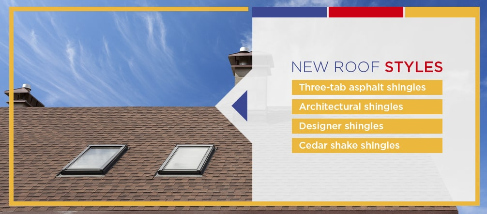 New Roof Styles