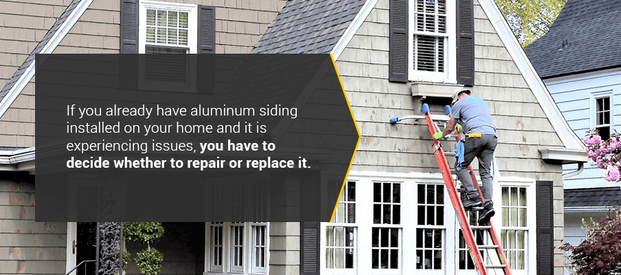 Is it Better to Repair or Replace Your Aluminum Siding