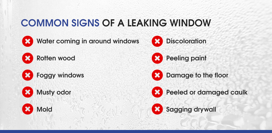 Common Signs of a Leaking Window